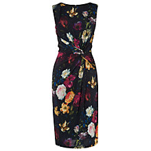 Buy Phase Eight St Petersburg Mina Printed Dress, Black Online at johnlewis.com