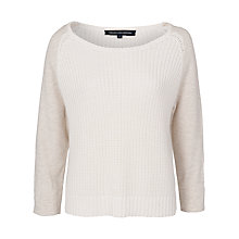 Buy French Connection Conrad Jumper, Oatmeal/Melange Online at johnlewis.com