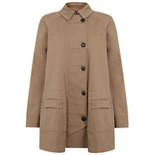 Buy NW3 by Hobbs Lulu Coat, Warm Beige Online at johnlewis.com