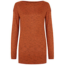 Buy Hobbs Kaye Jumper, Orange Online at johnlewis.com