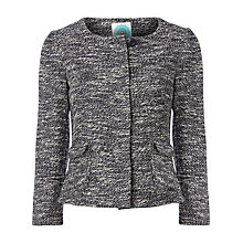 Buy White Stuff Pierrot Item Jacket, Dark Ink Online at johnlewis.com