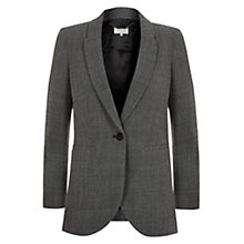 Buy Hobbs Ellen Jacket, Black/Ivory Online at johnlewis.com