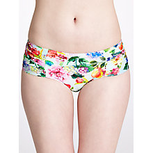 Buy Seafolly Summer Garden Bikini Shorts, Mint Online at johnlewis.com