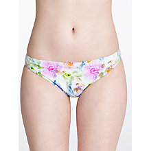 Buy Ted Baker Cellinne Bikini Briefs, Pale Green Online at johnlewis.com