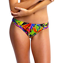 Buy Seafolly Oasis Ruched Side Retro Bikini Bottoms, Multi Online at johnlewis.com