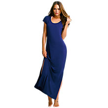 Buy Seafolly Coastline Atol Maxi Dress, Navy Online at johnlewis.com