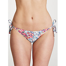 Buy John Lewis Textured Ditsy Floral Bikini Briefs, Multi Online at johnlewis.com