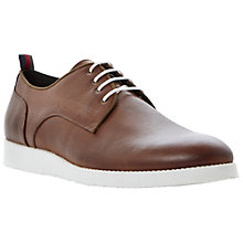 Buy Bertie Beadle Hi Shine Wedge Gibson Shoes, Tan Online at johnlewis.com