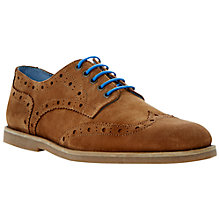 Buy Bertie Brentwood Brogue Desert Shoes, Tan Online at johnlewis.com