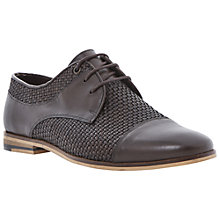 Buy Bertie Bowie Toe Cap Lace Up Shoes, Brown Online at johnlewis.com