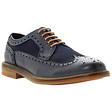 Buy Bertie Bethnal Green Brogues, Navy Online at johnlewis.com