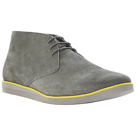 Buy Dune Candy Shop Suede Desert Boots, Grey Online at johnlewis.com