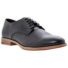 Buy Bertie Randolph Leather Gibson Shoes, Black Online at johnlewis.com
