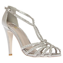 Buy Miss KG Pippa Sandals, Silver Online at johnlewis.com