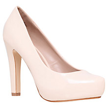 Buy Miss KG Annie Leather Court Shoes, Nude Online at johnlewis.com