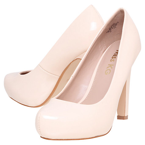 Buy Miss KG Annie Court Shoes, Nude Online at johnlewis.com