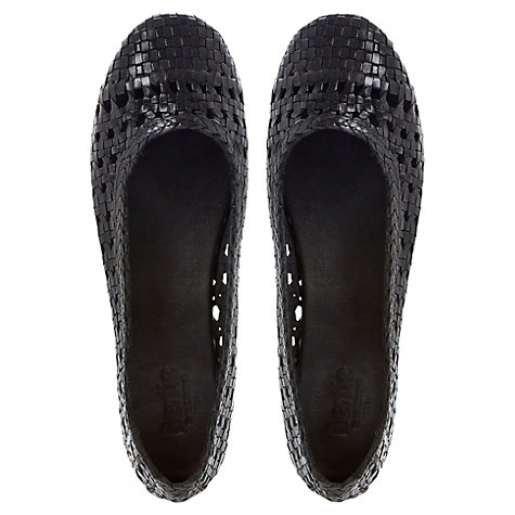 Buy Bertie Mia Leather Ballerinas Online at johnlewis.com