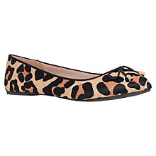 Buy Miss KG Nel Ballerina Pumps, Leopard Online at johnlewis.com