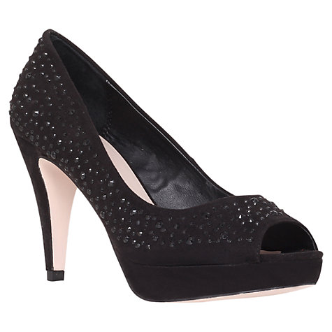 Buy Miss KG Georgie Court Shoe, Black Online at johnlewis.com