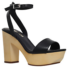 Buy Miss KG Penelope Platform Shoe, Black Online at johnlewis.com