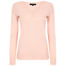 Buy Jaeger Cashmere V-Neck Knit Top Online at johnlewis.com