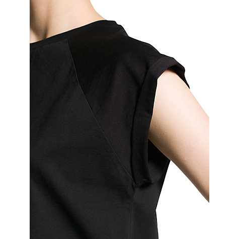 Buy Mango Rolled Up Sleeve T-Shirt Online at johnlewis.com
