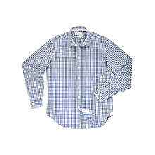 Buy Thomas Pink Hamish Check Shirt, Blue/White Online at johnlewis.com