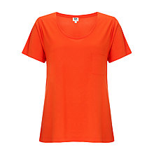 Buy Kin by John Lewis Pocket T-Shirt, Grenadine Online at johnlewis.com