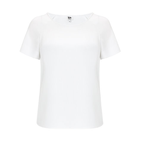 Buy Kin by John Lewis Colour Block Top Online at johnlewis.com