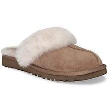 Buy UGG Cozy Mule Slippers, Chestnut Online at johnlewis.com