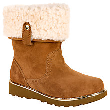 Buy UGG Children's Callie Chestnut Boots, Chestnut Online at johnlewis.com