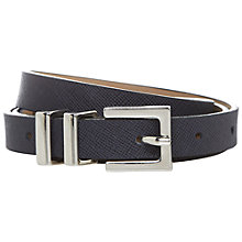 Buy Hobbs Bea Belt, Navy Online at johnlewis.com