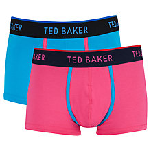 Buy Ted Baker Marford Trunks, Pack of 2, Multi Online at johnlewis.com