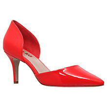 Buy Miss KG Celina Patent Court Shoe, Red Online at johnlewis.com