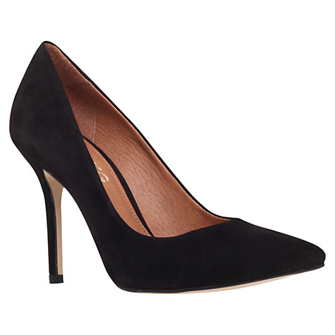 Buy Miss KG Anabela Point Toe Suede Court Shoes Online at johnlewis.com