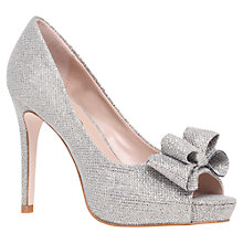 Buy Miss KG Caroline Court Shoes, Silver Online at johnlewis.com