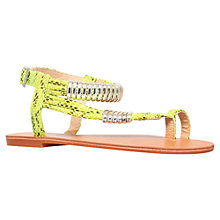 Buy Carvela Klipper Flat Sandals Online at johnlewis.com