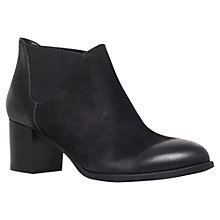 Buy Carvela Shin Ankle Boots, Black Online at johnlewis.com
