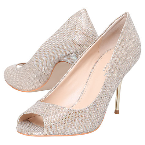 Buy Carvela Geraldine Open Toe Stiletto Courts Online at johnlewis.com
