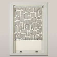 Buy MissPrint Little Trees Roller Blind, Monochrome Online at johnlewis.com