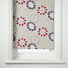 Buy John Lewis Tilda Blackout Roller Blind, Magenta Online at johnlewis.com