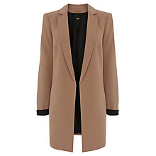 Buy Oasis Tailored Jacket, Camel Online at johnlewis.com