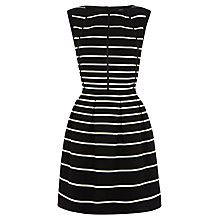 Buy Oasis Multi Striped Dress, Multi Black Online at johnlewis.com