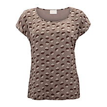 Buy East Silk Front Fola T-Shirt, Elephant Online at johnlewis.com