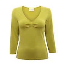 Buy East Pleat Front Jersey Top Online at johnlewis.com