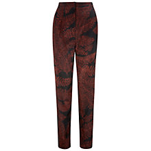 Buy Hobbs Cade Trousers, Black/Multi Online at johnlewis.com