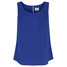 Buy Oasis Pain Vest, Rich Blue Online at johnlewis.com