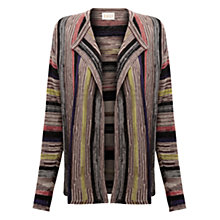 Buy East Space Dye Linen Cardigan, Elephant Online at johnlewis.com