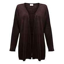 Buy East Linen Swing Cardigan, Cocoa Online at johnlewis.com