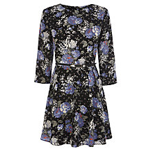 Buy Oasis Floral Spot Skater Dress, Multi Online at johnlewis.com